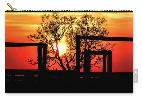Stockyard Sunset Carry-all Pouch