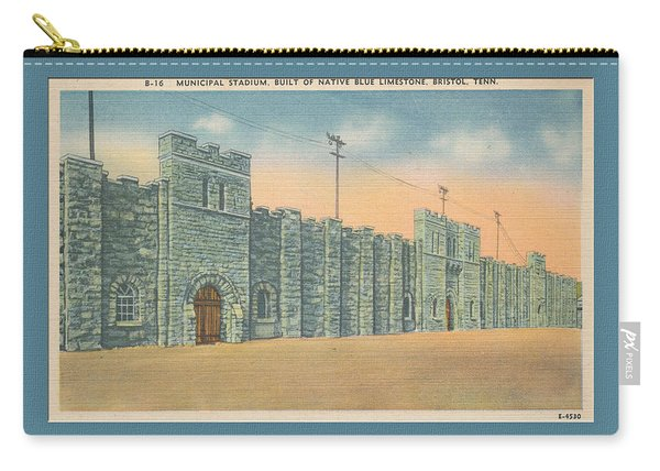Stone Castle Bristol Tn Built By Wpa Carry-all Pouch