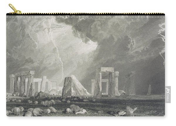Stone Henge Carry-all Pouch