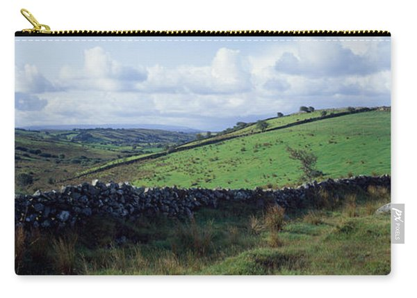 Stone Wall On A Landscape, Republic Carry-all Pouch
