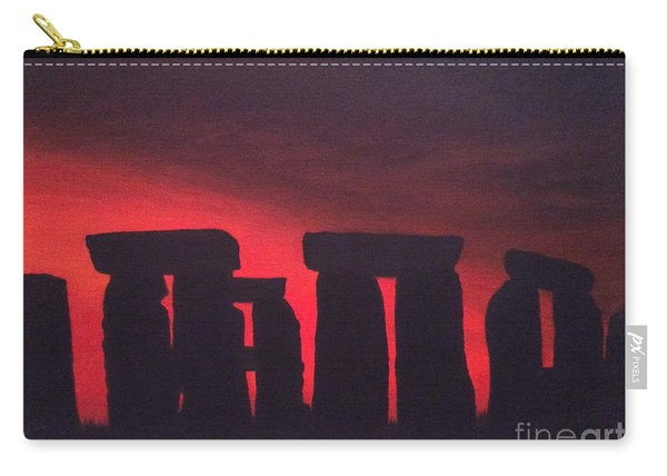 Stonehenge At Dusk Carry-all Pouch