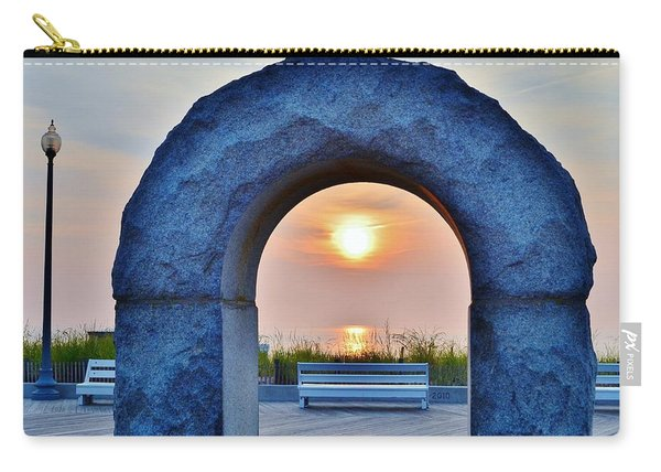Sunrise Through The Arch - Rehoboth Beach Delaware Carry-all Pouch
