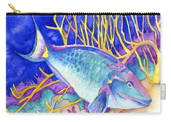 Stoplight Parrotfish Carry-all Pouch