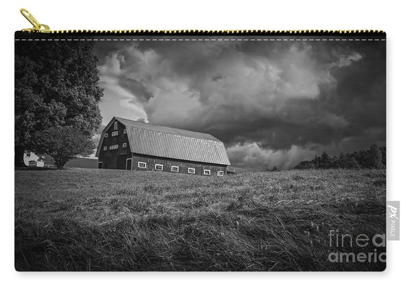 Storm Clouds Over The Farm Carry-all Pouch