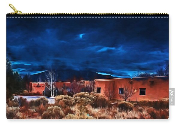 Storm Over Taos Lx - Homage Okeeffe Carry-all Pouch