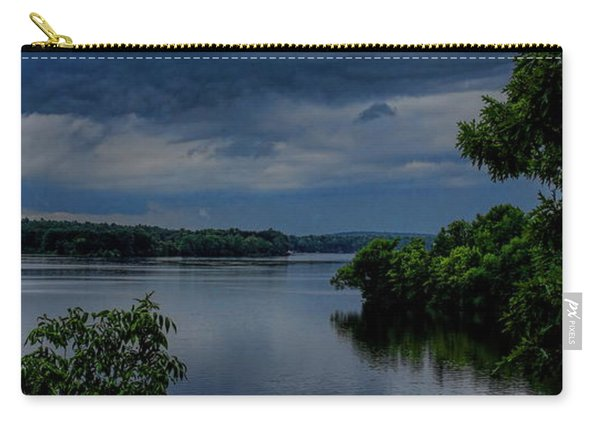 Storm Rolling Over Lake Wausau Carry-all Pouch