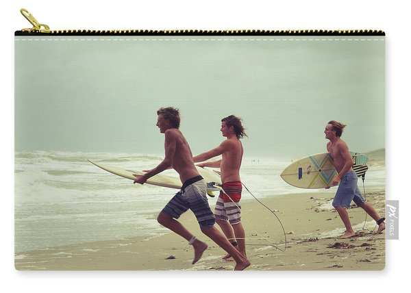 Storm Surfers Carry-all Pouch
