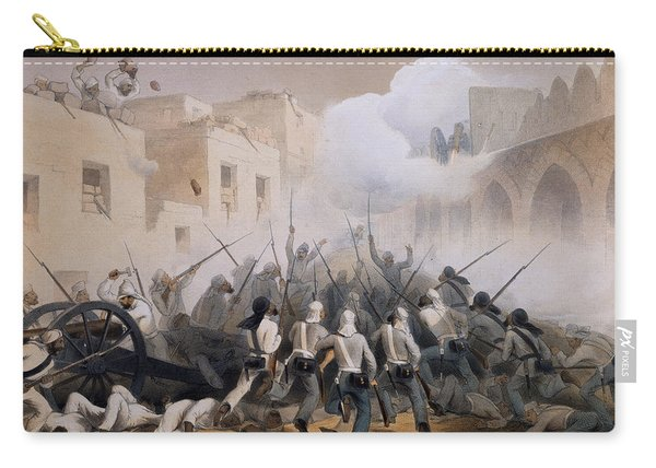 Storming Of Delhi 1857, From The Carry-all Pouch