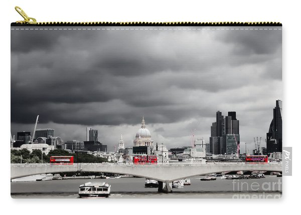Stormy Skies Over London Carry-all Pouch