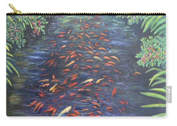 Stream Of Koi Carry-all Pouch