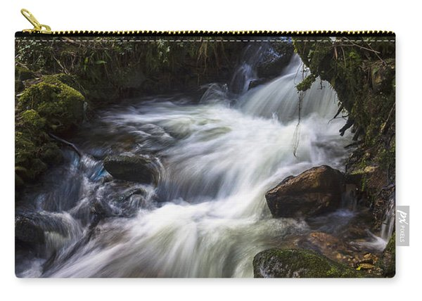 Stream On Eume River Galicia Spain Carry-all Pouch