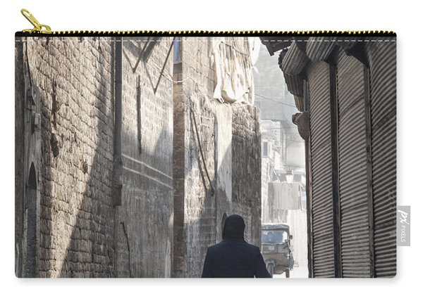 Street In Aleppo Syria Carry-all Pouch