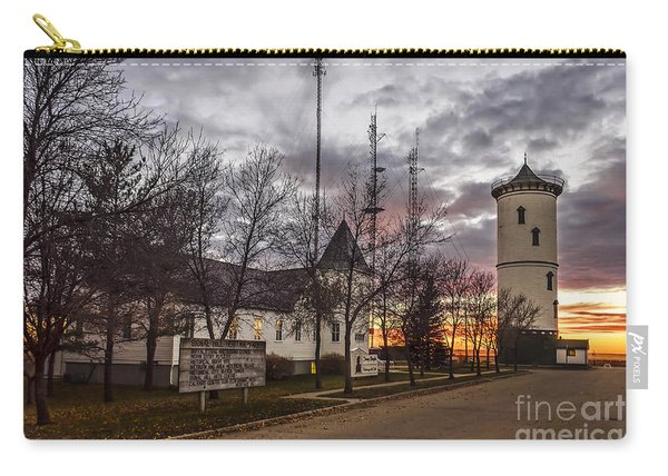 Sunset Over The Historic Part Of Weyburn. Carry-all Pouch