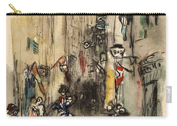 Street In Marseille Carry-all Pouch