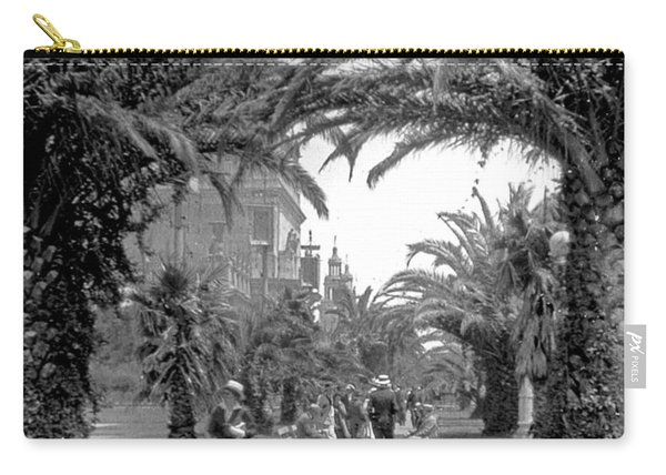 Avenue Of The Palms, San Francisco Carry-all Pouch