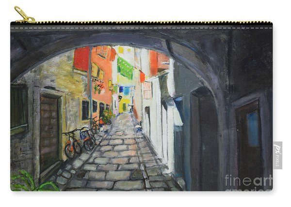 Street View 2 From Pula Carry-all Pouch