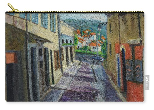 Street View From Provence Carry-all Pouch