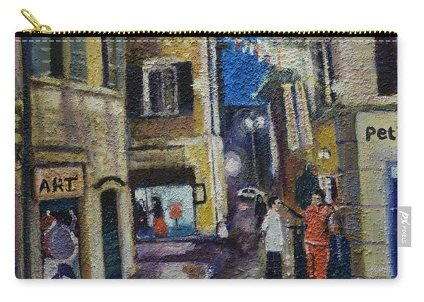 Street View Provence 2 Carry-all Pouch