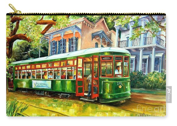 Streetcar On St.charles Avenue Carry-all Pouch