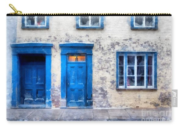 Streets Of Old Quebec 2 Carry-all Pouch