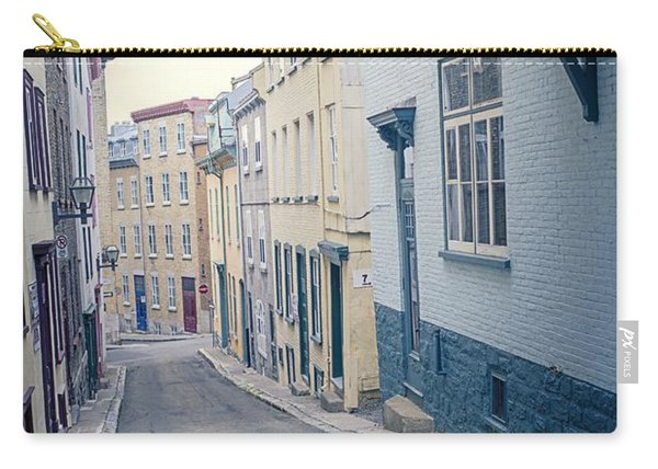 Streets Of Old Quebec City Carry-all Pouch