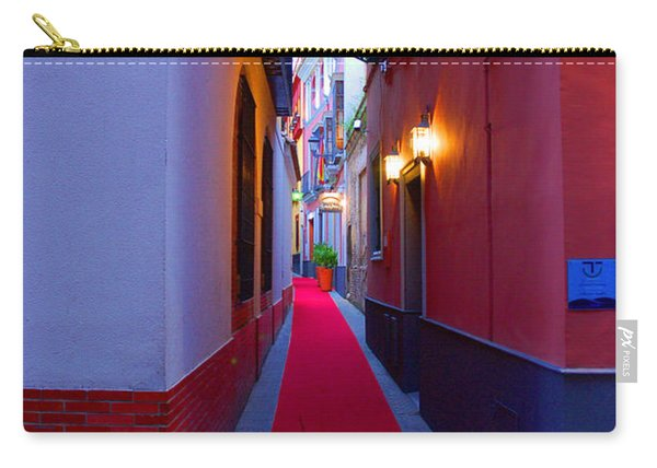 Streets Of Seville - Red Carpet  Carry-all Pouch