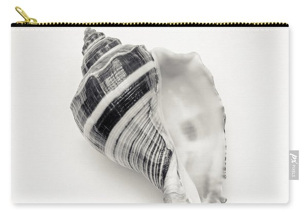 Striped Sea Shell 2 Carry-all Pouch