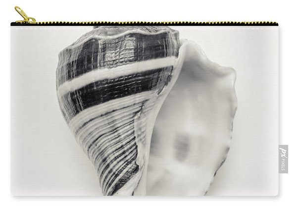 Striped Sea Shell Carry-all Pouch