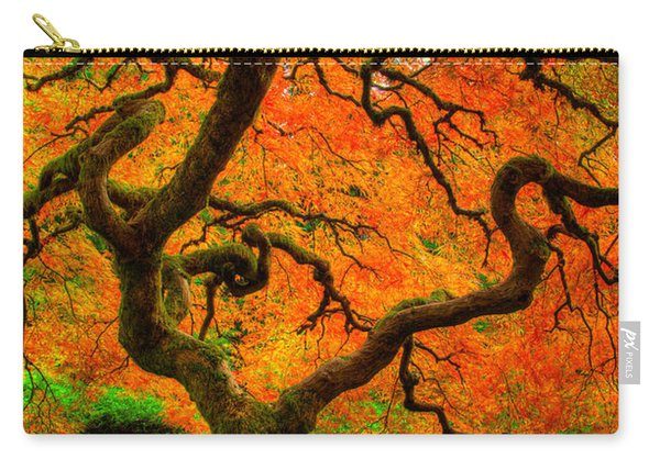 Carry-all Pouch featuring the photograph Structured Beauty by Dustin  LeFevre