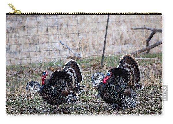 Strutting Turkeys Carry-all Pouch