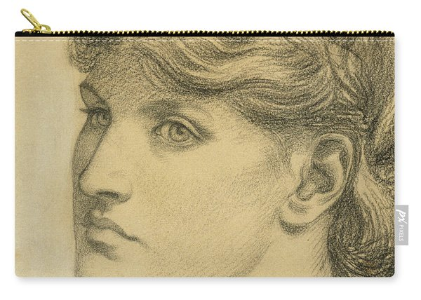 Study Of A Head For The Bower Meadow Carry-all Pouch