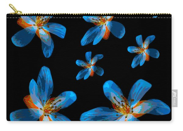 Study Of Seven Flowers #2 Carry-all Pouch