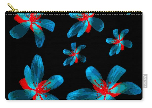 Study Of Seven Flowers #3 Carry-all Pouch