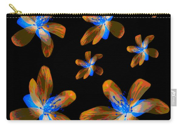 Study Of Seven Flowers #5 Carry-all Pouch