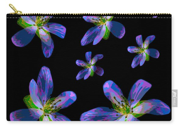 Study Of Seven Flowers #6 Carry-all Pouch
