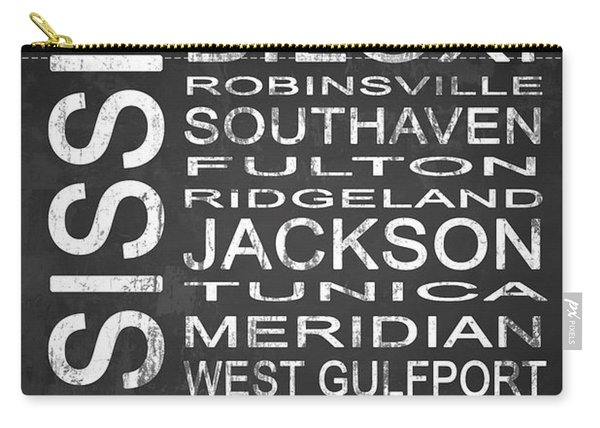 Subway Mississippi State 1 Carry-all Pouch