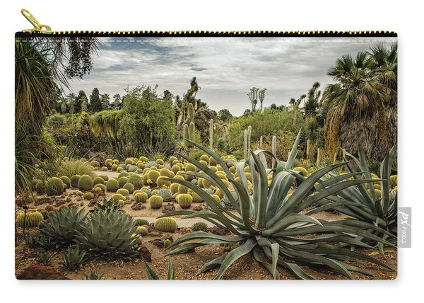 Succulents At Huntington Desert Garden No. 3 Carry-all Pouch