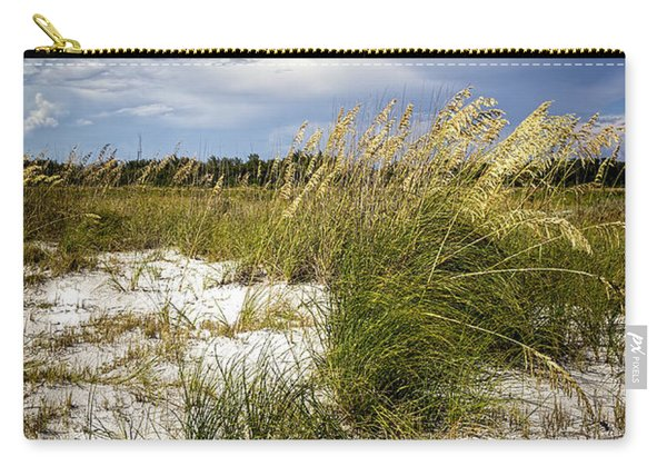 Sugar Sand And Sea Oats Carry-all Pouch