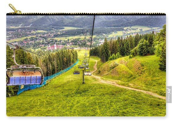Summer Chairlift Carry-all Pouch