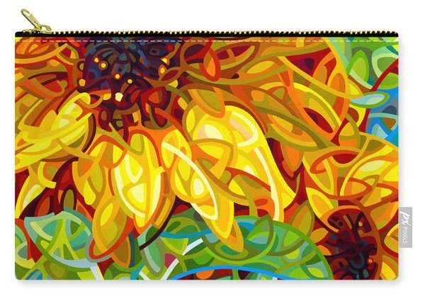 Summer In The Garden Carry-all Pouch