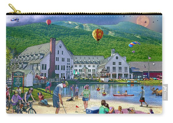 Summer In Waterville Valley Carry-all Pouch