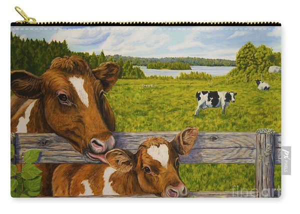 Summer Pasture Carry-all Pouch