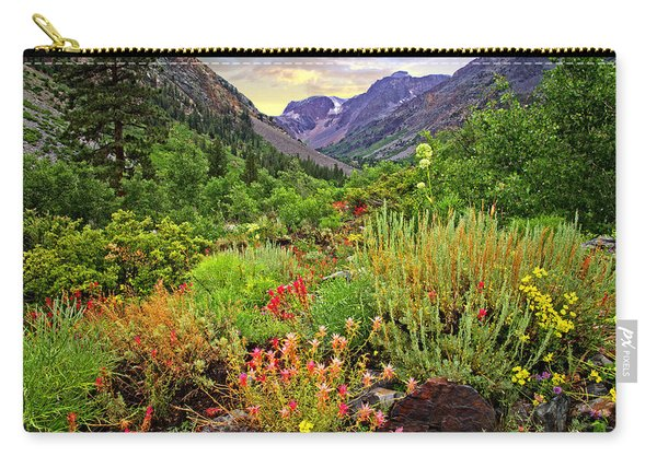 Summer Wildflowers In Lundy Canyon Carry-all Pouch