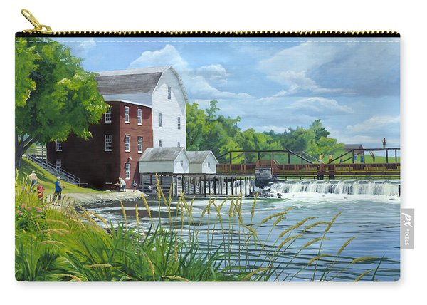 Summertime At The Old Mill Carry-all Pouch