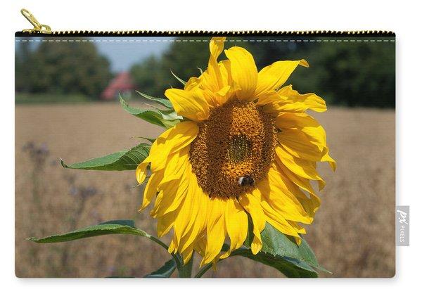 Sun Flower Fields Carry-all Pouch