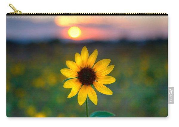 Sun Flower Iv Carry-all Pouch