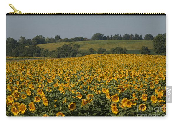 Sun Flower Sea Carry-all Pouch