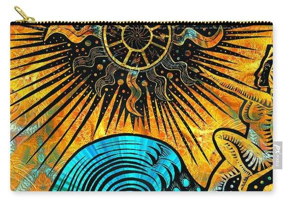 Big Sur Sun Goddess Carry-all Pouch