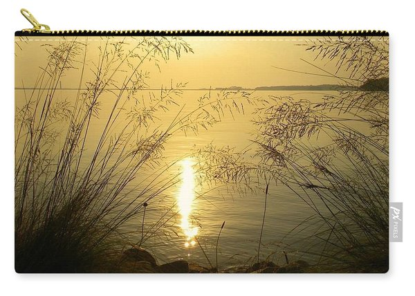 Sun Over Lake Murray Carry-all Pouch