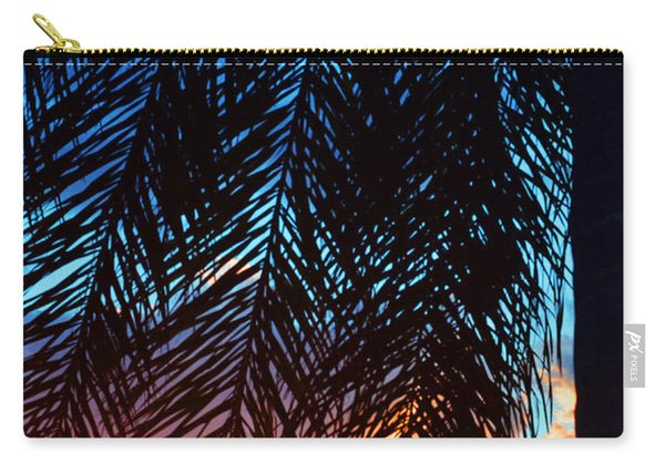 Sun Palm Carry-all Pouch